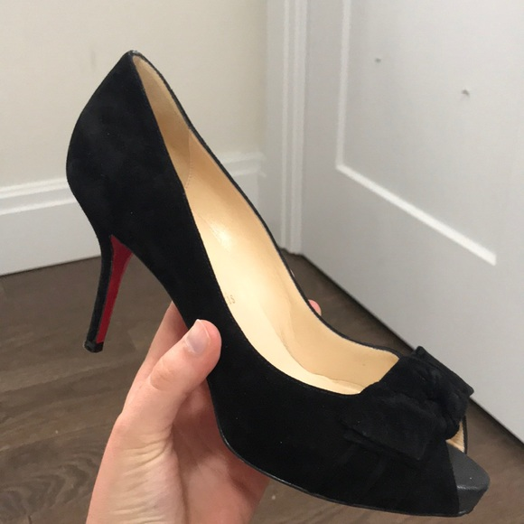 ee9b58c1deb Christian Louboutin Shoes - Christian Louboutin 3 in. Pumps with bow
